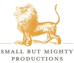 small but mighty logo