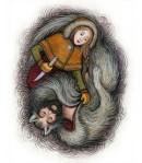 wolfskin and huntress