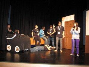Waiting for John Doe performance Canadian Northern Drama Festival 2012