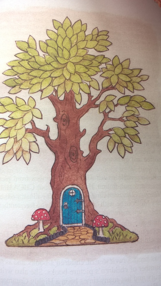 Illustration by David Allan for his own story, 'The Fairy Tree'